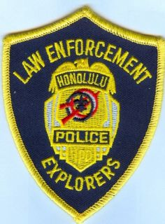 Honolulu Law Enforcement Explorers Police Patch
