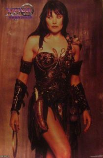 Xena Warrior Princess 23x35 Poster Lucy Lawless
