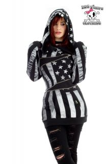 Dawn Rockstar BFH Zip Hoody with American Flag by Avril Lavigne