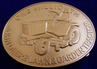 John Deere Lawn Tractor Yard Mower Belt Buckle