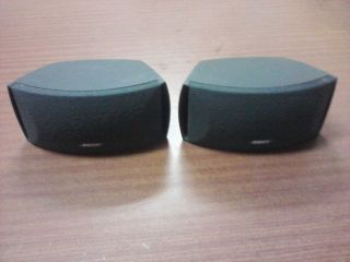 Bose Surround Sound Home Theater Speakers 321 Cinemate One Pair
