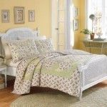 Laura Ashley Home Whitaker Quilter Queen Full Oversized Comforter