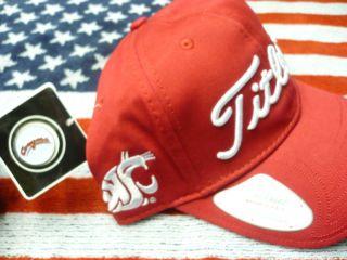New Titleist Washington State Cougars Ball Marker Hat