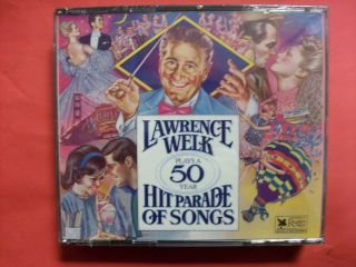 Lawrence Welk Plays A 50 Year Hit Parade of Songs Readers Digest 3 CD