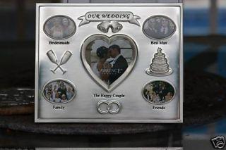 Bulk Sale 2 Our Wedding Day Silver Lawrence Frames Nu