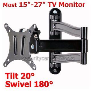 Tilt LCD LED TV Monitor Wall Mount 15 19 21 22 23 26 27 BM2