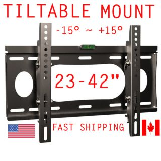 Tilting TV Wall Mount Plasma LCD LED 24 26 32 37 42 Inch