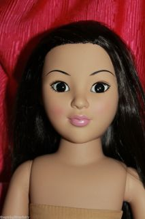 Wonder Madame Alexander 18 straight black hair black eyed layla DOLL