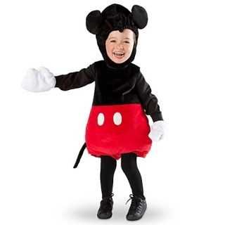 Disney Store Mickey Mouse Plush Costume 12 Months