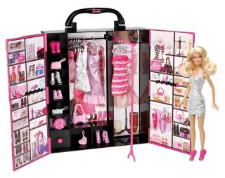Ultimate Closet Girl Play Set Doll Toy Clothes Child Kid New