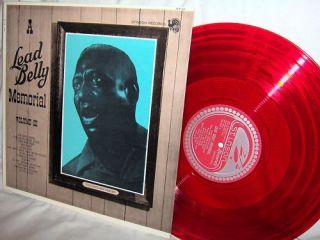 Leadbelly A Memorial Volume III Blues Folk Red Vinyl LP