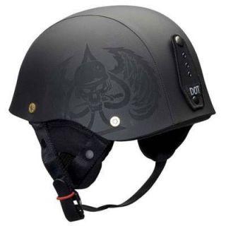 Bell Drifter Combat Hide Leather Motorcycle Helmet Med