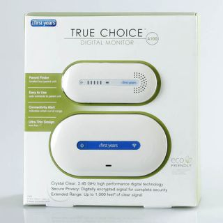 The Learning Curve First Years True Choice Digital Baby Monitor A100