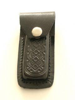New Leather Knife Sheath w Belt Loop Fits Buck 290S
