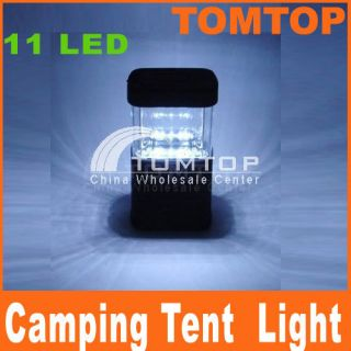 11 LED Lantern Light Lamp for Bivouac Camping Fishing