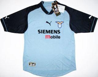 02 03 Lazio UEFA Cup Football Shirt Jersey Top Maglia
