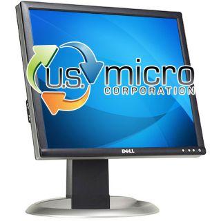 Dell 1703FP 17 LCD Flat Panel TFT Monitor DVI VGA 1