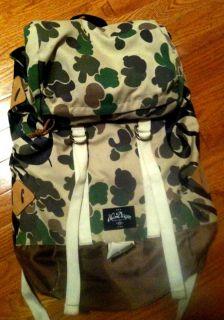 10 Deep Army Camo Backpack Nike Foamposite Jordan