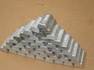 50 lbs Lead Ingots for Bullets Fishing Sinkers Molds