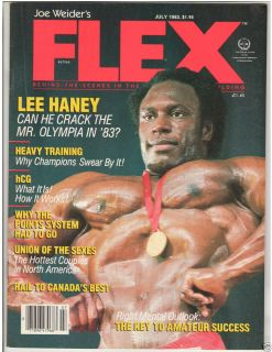 Bodybuilding Fitness Muscle Magazine Lee Haney Mr Olympia 7 83