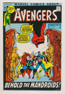 AVENGERS #94 F Neal Adams art, Thor Captain America Iron Man Marvel