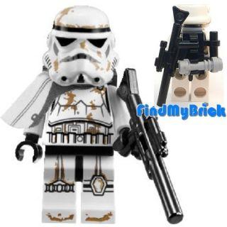 SW193W Lego Star Wars Sandtrooper Sergeant Stormtrooper Minifigure