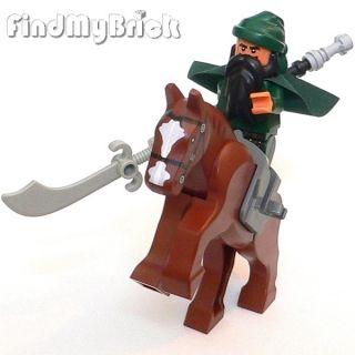 New Lego Three Kingdoms Custom Guan Yu Minifigure Horse 三国の關