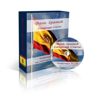 Learn to speak SPANISH Basic Spanish Language Course Written Audio PC