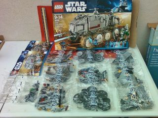 LEGO STAR WARS CLONE TURBO TANK SET 8098 SEALED UNOPEN BAGS (no