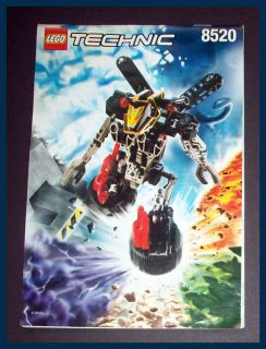1999 Lego Technic Throwbots Ice Millennium Slizer Instruction Manual
