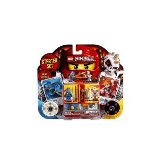 LEGO Ninjago Starter Set JAY & FRAKJAW Arena Included 2257 blue ninja