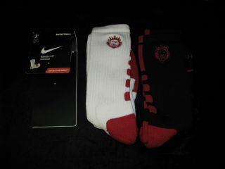 Limited Edition Nike Elite Lebron James Socks Double Pack