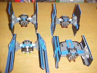 Lego Star Wars 10131 Tie Fighter Collection