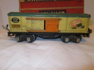 Vintage Lionel Train Car Tin Plate Baby Ruth Box