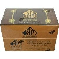 2012 Upper Deck SP Signature Edition Baseball Hobby Box