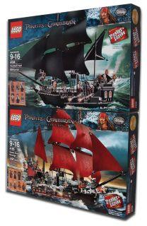 Lego POTC Queen Annes Revenge 4195 The Black Pearl 4184 Fast Shipping