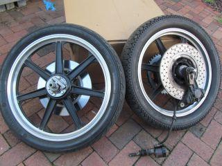 LESTER MAG RIMS for Honda CB750f Super Sport + rear brake system cb750