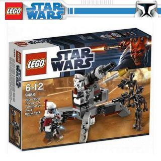 LEGO star wars 9488 Elite Clone Trooper Commando Droid Battle Pack