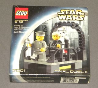 Star Wars Lego Building Set 7201 Final Duel II 2 w Luke Skywalker New