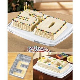 Letter Number Educated Custom Birthday Cake Mold Aluminum Baking Pan