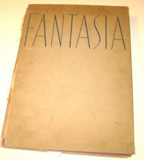 Fantasia 1940 Book Deems Taylor Leopold Stokowski Color Plates
