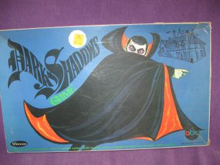 Vtg Dark Shadows Barnabas Collins 1968 Whitman Monster Vampire Board