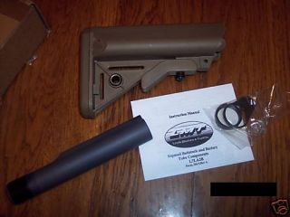 Lewis Machine and Tool Sopmod Stock Kit Flat Dark New