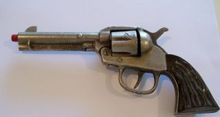Kilgore 1940s Big Horn Cast Iron Toy Cap Gun