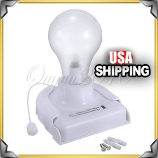 Cordless Battery Operated Night Light Portable Bulb Licht US
