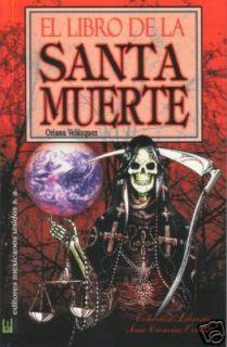 El Libro de La Santa Muerte Book Holy Death Español