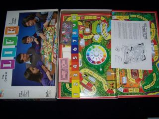 The Game of Life 1985 Vintage Boardgame 100 Complete Board Game