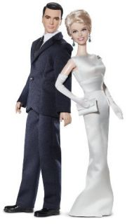 New Barbie Collector Pillow Talk Doris Day and Rock Hudson Doll Gift Set 027084996203