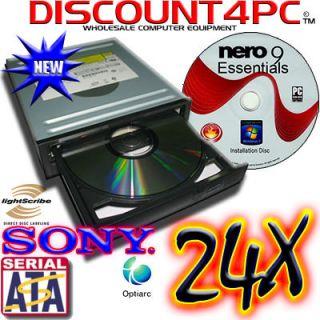 Sony Lightscribe SATA DVD±RW±DL Dual Layer Burner Drive