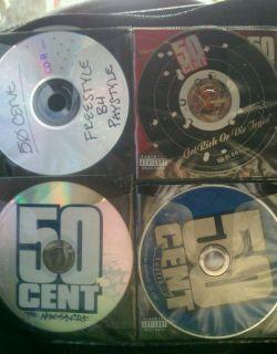 RAP HIP HOP R B CDs EMINEM TUPAC 50 CENT JAY Z G UNIT NAS LIL KIM D12